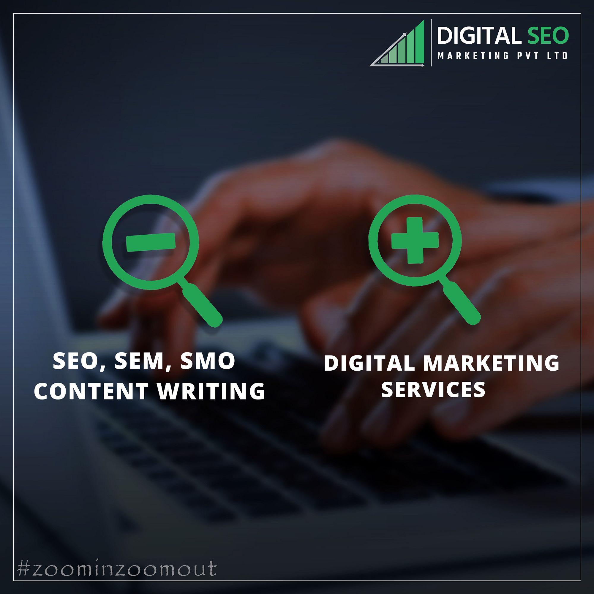 Digital seo offers you professional digital marketing