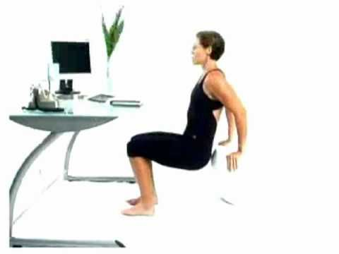 Office Desk Workouts Biceps And Triceps While Sitting At Workouttriceps