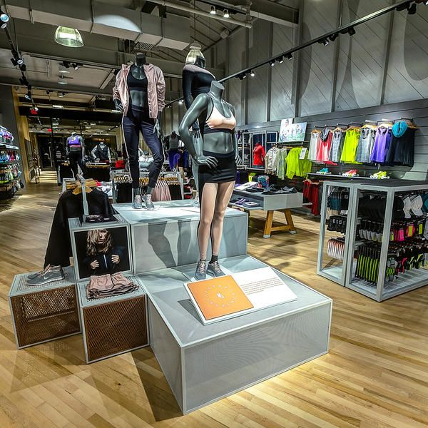 """NIKE: First store for women only"", Newport Beach,California, USA,pinned by Ton van der Veer"