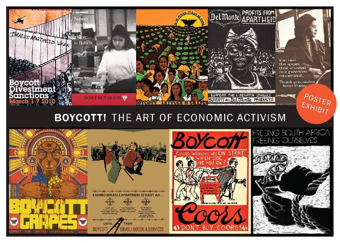 Poster Exhibit: Boycott! The Art of Economic Activism | Art ...