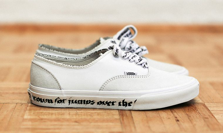 N.HOOLYWOOD and Vans Rework the Authentic for Spring Summer 2016 28e97daa2