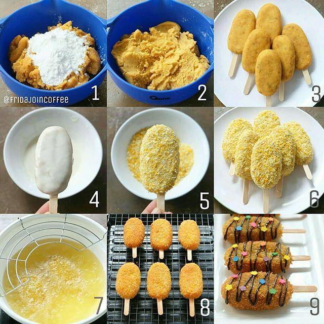 resep ubi goreng fantasi dan cara membuat ubi fantasi jajanan ala
