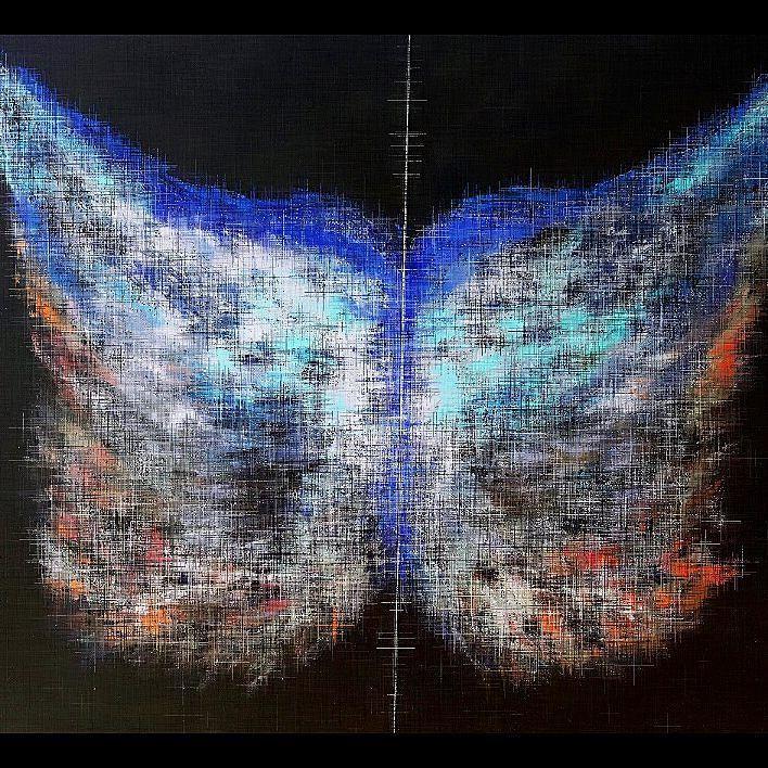 Arte Digital sobre Tela CON MARCO by arteacrilico