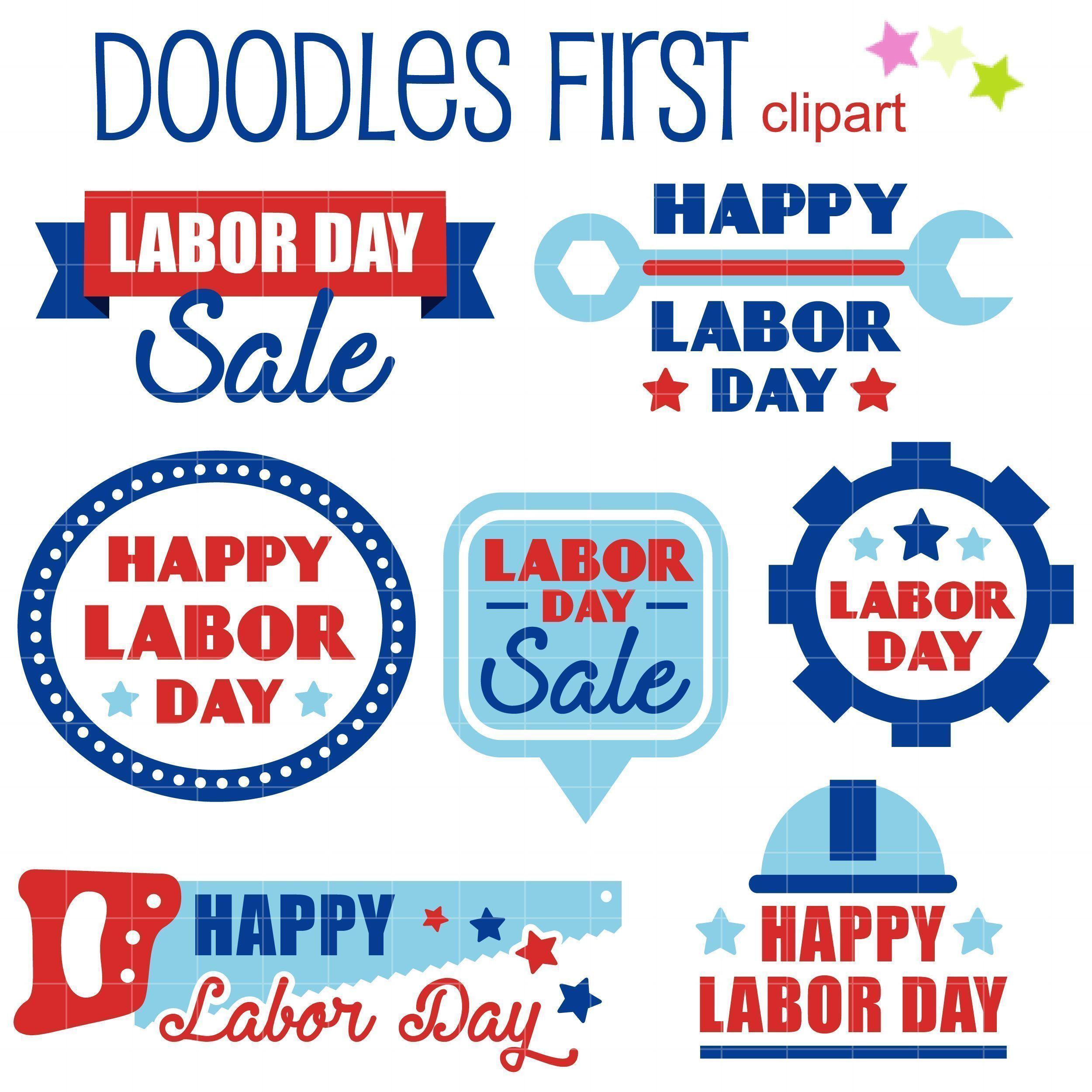 Happy Labor Day Clip Art Set Happylabordayimages Happy Labor Day Clip Art Set Daily Art Hub Free Clip Art Everyd Labor Day Clip Art Clip Art Free Clip Art