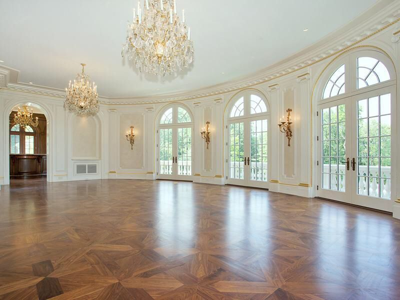 Ballroom Of 1 Frick Drive Stone Mansion At 1 Frick