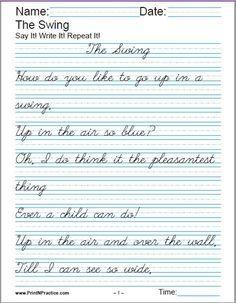 printable handwriting worksheets manuscript and cursive homeschool printable handwriting. Black Bedroom Furniture Sets. Home Design Ideas