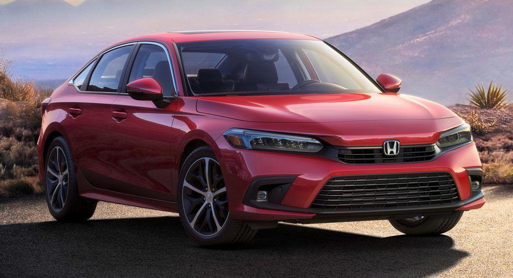 This Is The New 2022 Honda Civic Sedan Will Be Fully Revealed On April 28tets In 2021 Honda Civic Sedan Civic Sedan Honda Civic