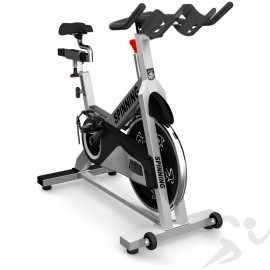 Star Trac Spinner Pro 7070 Spin Bike Features A Steel Frame Body Leather Pad For Resistance Dual Sided Pedals An Exercise Bikes Bike Used Fitness Equipment