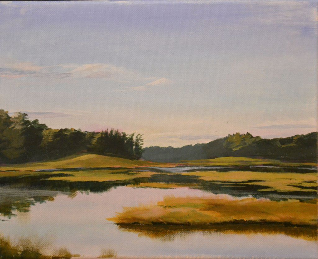 """Morning on the Bog"" Marc Anderson, artist"