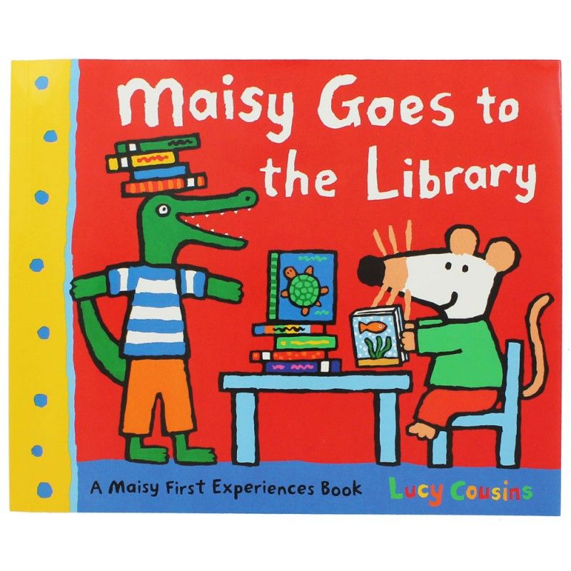 Maisy goes to the library - English Wooks | Books for children ...