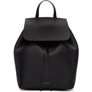 Mansur Gavriel Black Leather Backpack | What we all want ...