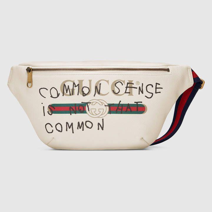 6a245bb925b1 Gucci Coco Capitán logo belt bag. Bum Bag