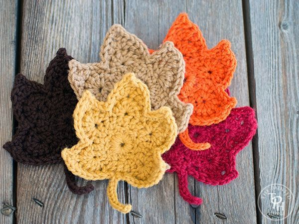 Fall Leaves Autumn Pinterest Fall Leaves Crochet Fall And Leaves