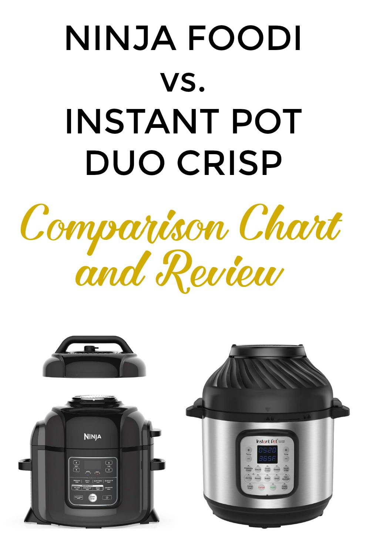 Ninja Foodi vs. Instant Pot Duo Crisp with Comparison