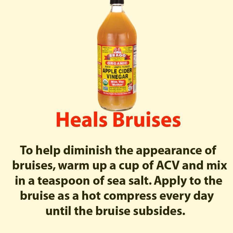 Heals Bruises Natural Body Detox Apple Cider Vinegar Detox Organic Apple Cider