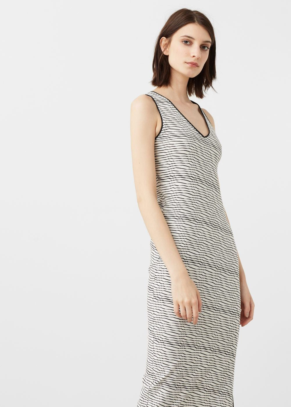 Contrast lace dress zara  Jacquard dress  Woman  OUTLET Netherlands  Dress It Up