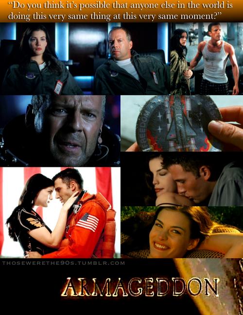 Favorite Movies Of The 90s Armageddon 1998 Armageddon Movie