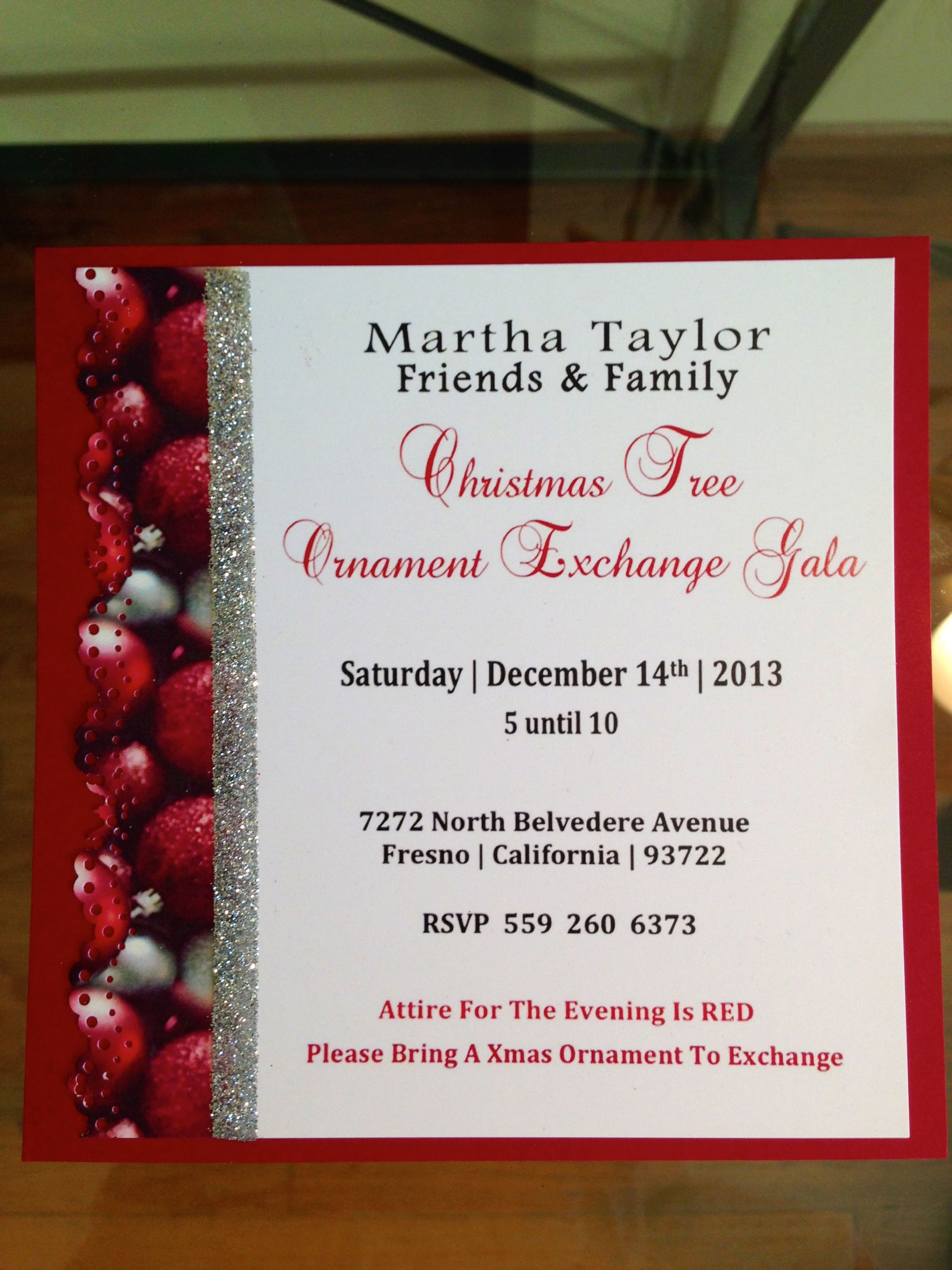 Cori Creative ::: Christmas Party Invitation. Follow us on FB ...