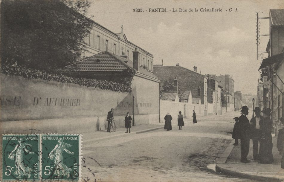 PANTIN - rue destienne dorves | Carte postale photo, Vieilles photos et Porte paris