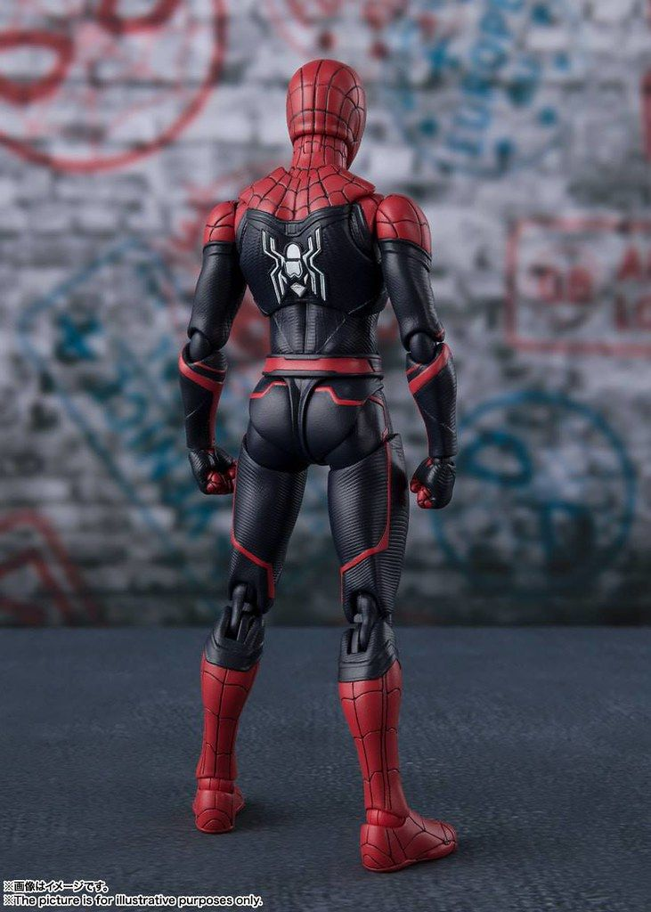 S H Figuarts Spiderman Far From Home Spiderman Action Figure Spiderman Marvel Collectibles