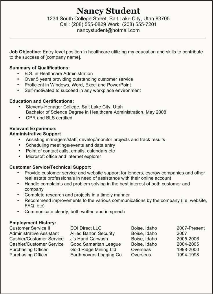 early childhood education resume  early  childhood