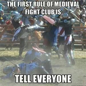 Medieval fight club rules | Historical Laughs | History