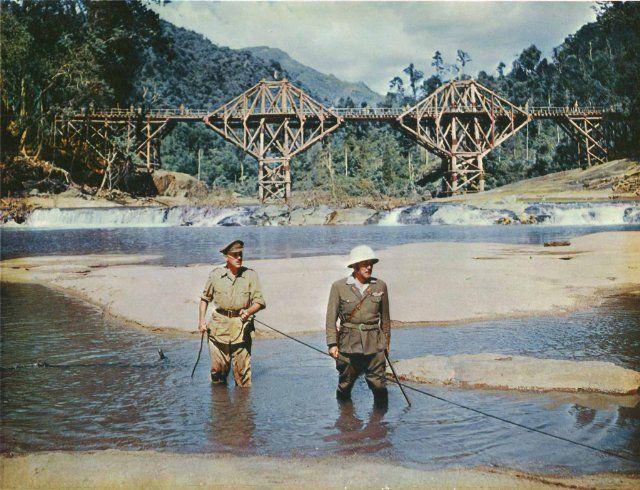 The Bridge On The River Kwai 1957 Great Films British Films War Movies