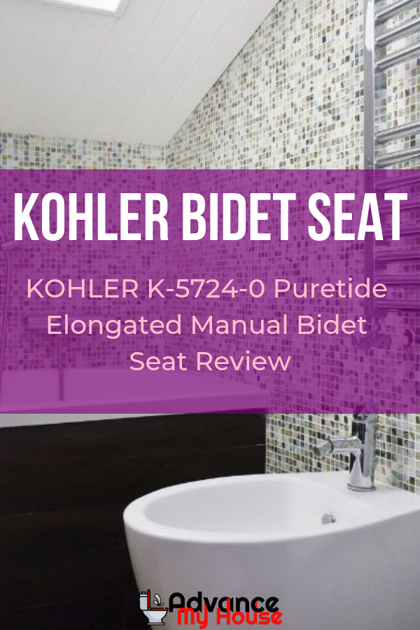 Miraculous Kohler K 5724 0 Puretide Elongated Manual Bidet Seat Review Machost Co Dining Chair Design Ideas Machostcouk