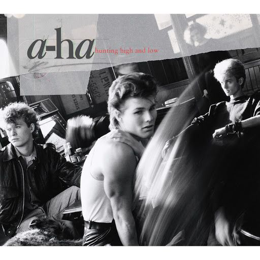 A Ha Take On Me Official Video Youtube Music Album Covers