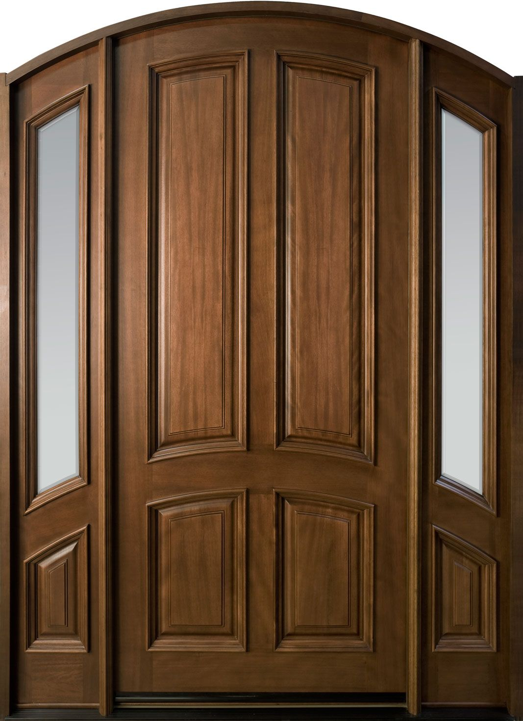 Solid wood entry and interior doors