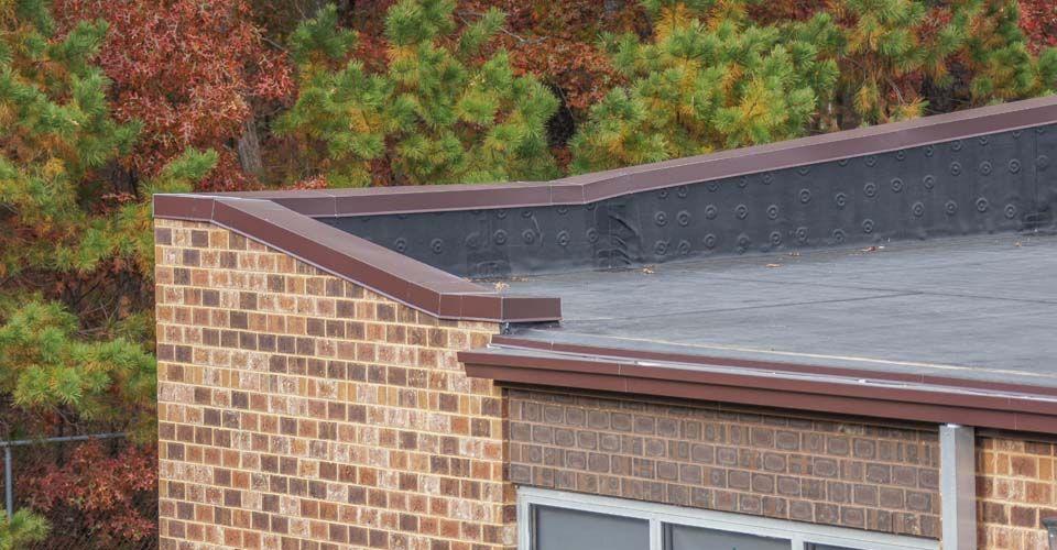 Aluminum Box Gutters Coping Outdoor Decor Box Gutter Roofing