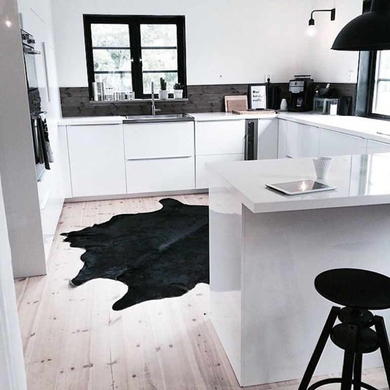 Home 17 Ideas For A Cowhide In Your Interior With Images Kitchen Design Small Kitchen Inspirations Interior Design Kitchen