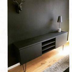 Transformer Son Meuble Tv Ikea Avec Des Hairpin Legs Meuble De Base