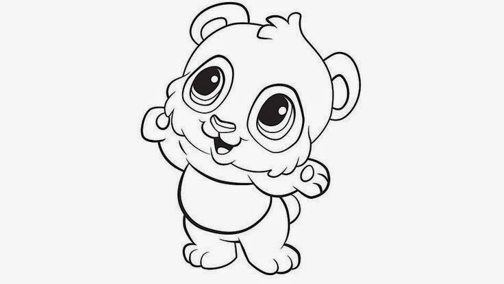 Baby Panda Coloring For Kids Panda