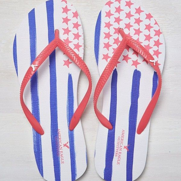 66559db641e492 American Eagle Flip Flop ( 7.99) ❤ liked on Polyvore
