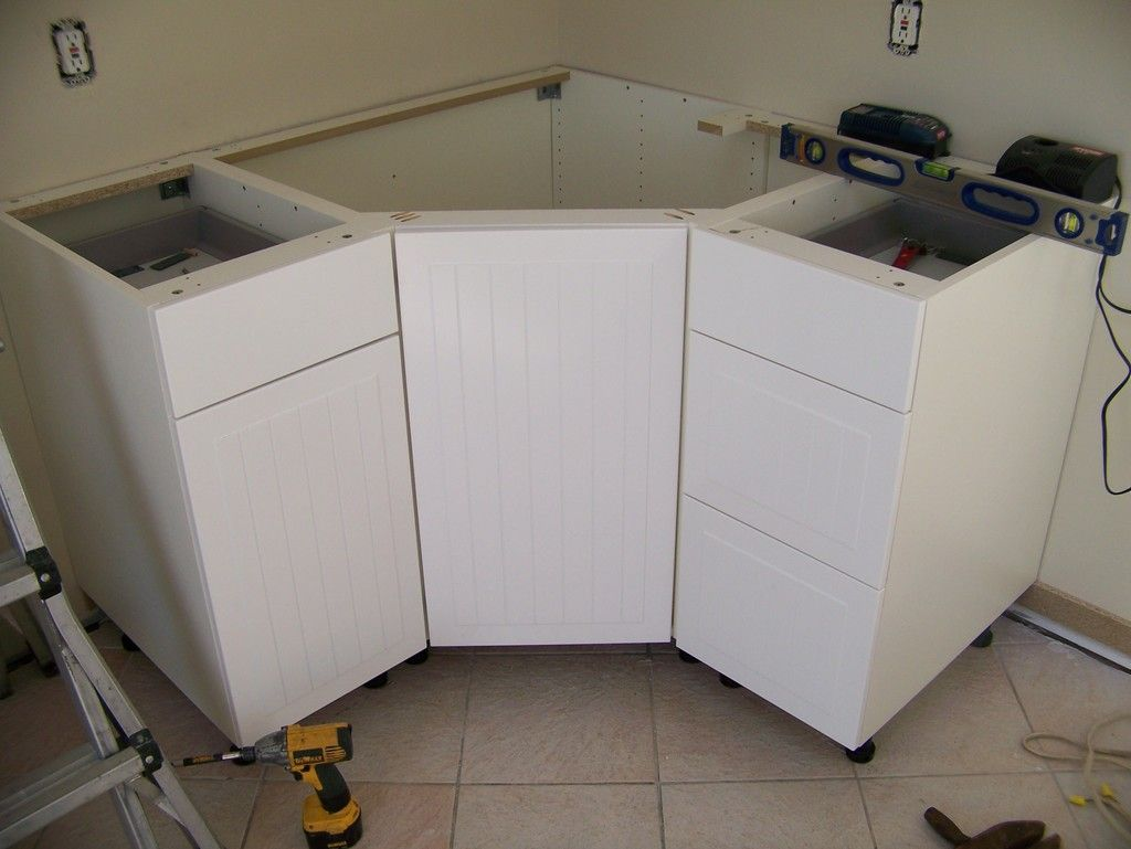 Kitchen Cabinet Modifications Kreg Owners Community Corner Sink Kitchen Corner Sink Kitchen Sink Sizes