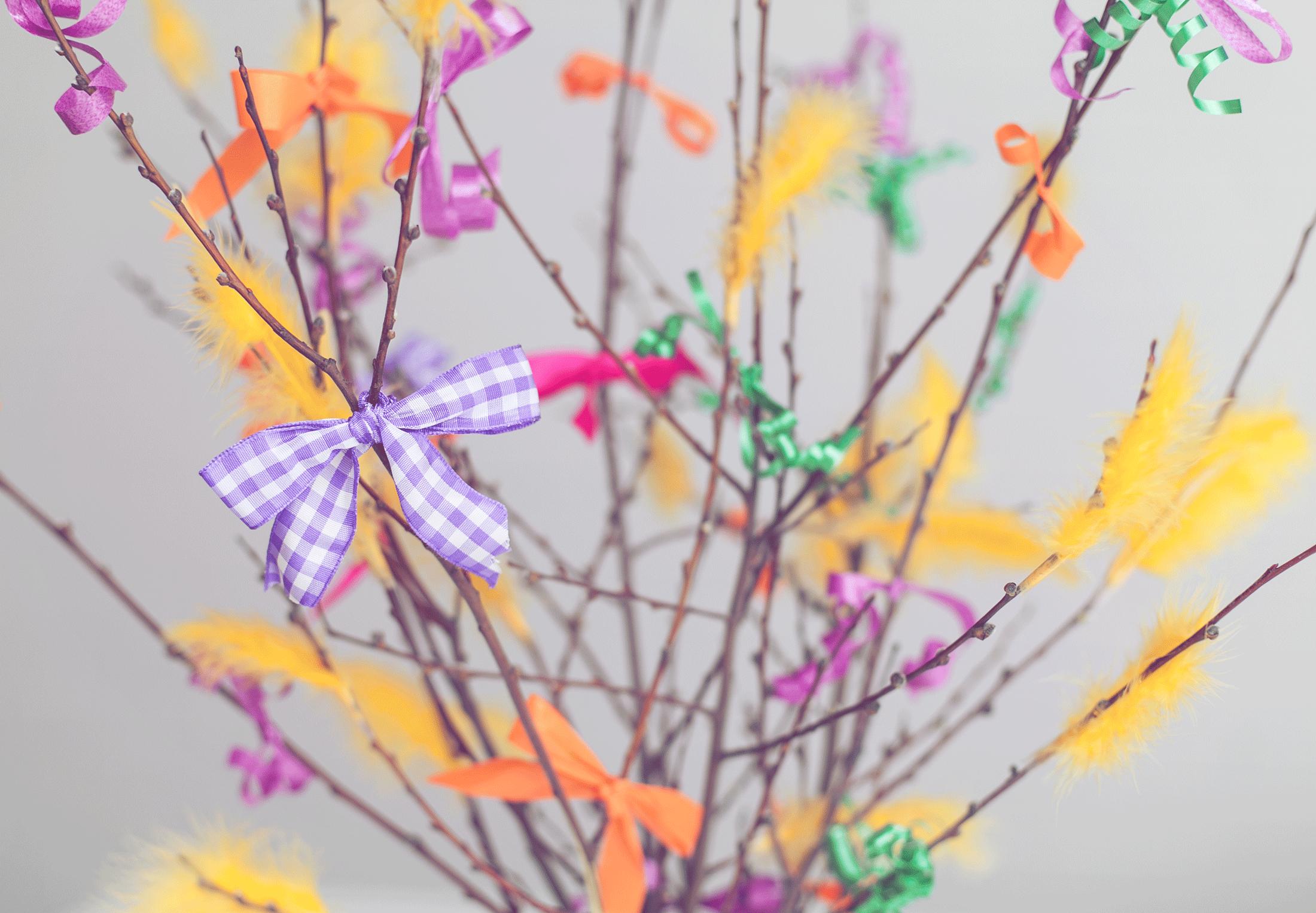 Virpoi varpoi vitsa uusi, kaunis niin kuin kukkiva kuusi! #pääsiäinen #virpomisoksa #pajunkissa