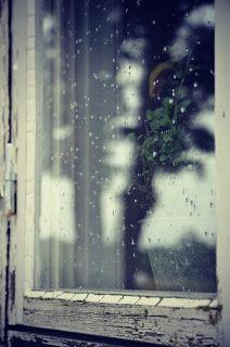 Rainy Window Panes I Love Rain
