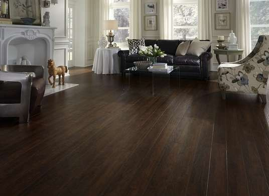 Get The Look Of Wood Floors For Much Less 7 Laminate Picks Dark Laminate Floors Flooring Laminate Flooring