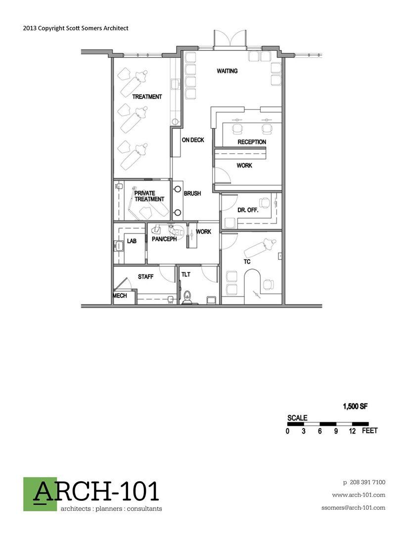 Orthodontic Office Floor Plans | Floor plans, Office floor ...