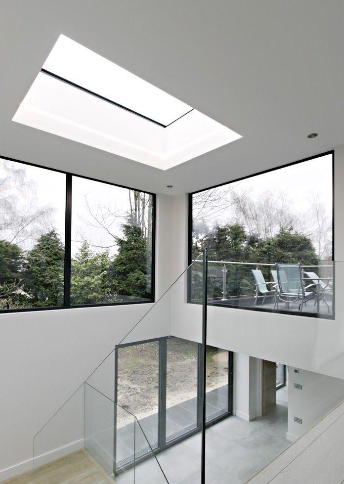 Contemporary Fixed Flat Skylight For Hallways Skylights Rooflights New Homes Skylight Roof Light