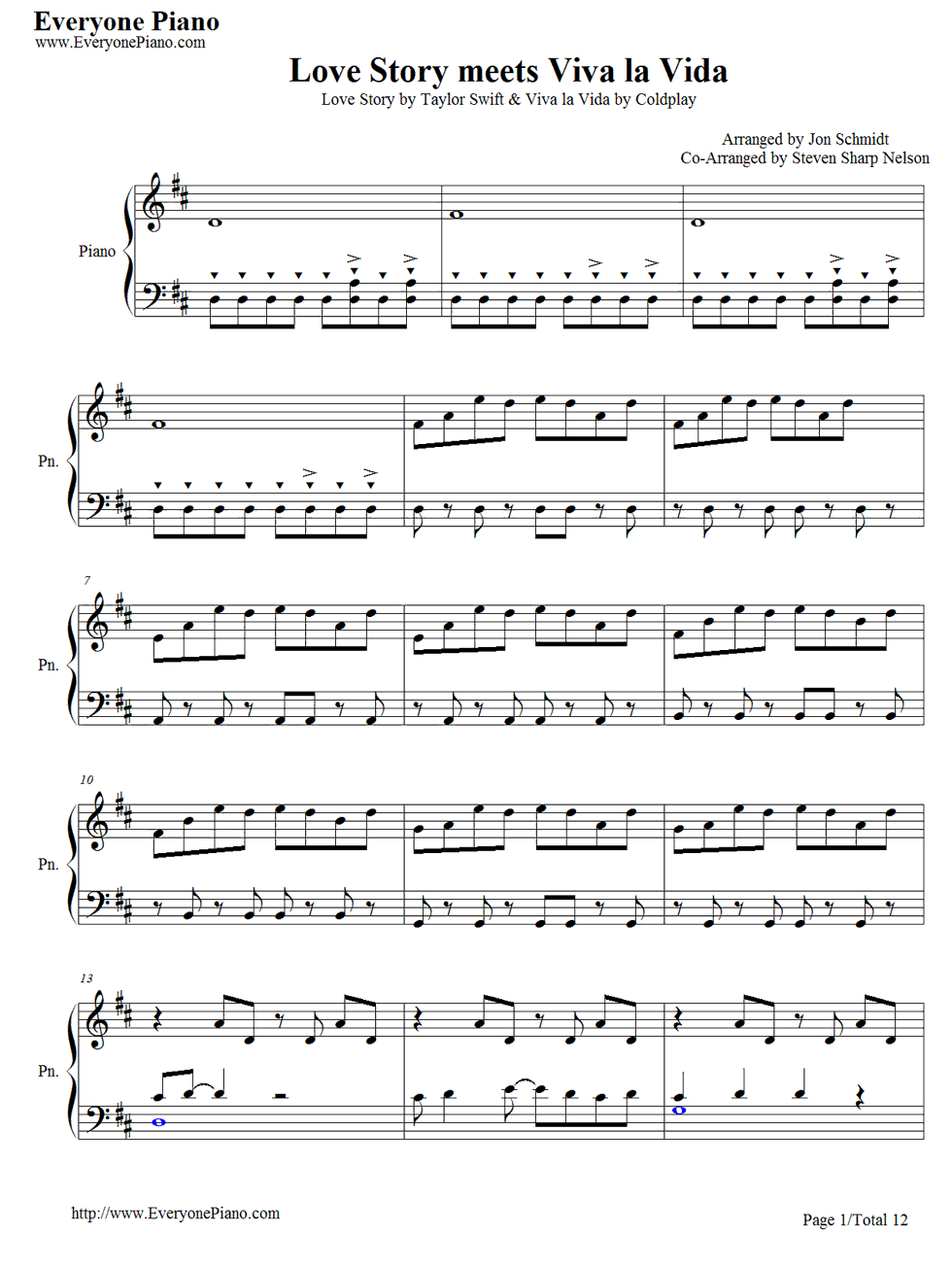 Love story meets viva la vida the piano guys free piano sheet love story meets viva la vida the piano guys free piano sheet music hexwebz Choice Image