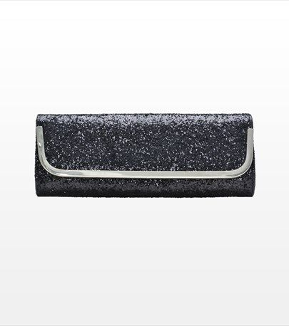 #DYNHOLIDAY Dare to dazzle with this gorgeous glitter clutch! Perfect for pairing with your little black dress.
