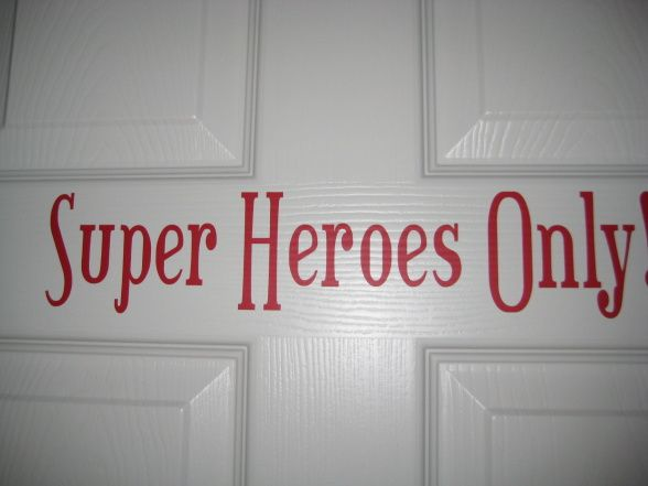 This will be on my front door someday! spiderman room ideas