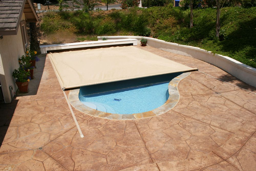 Check Out The Deal On On Deck Track Automatic Cover Up To 599 Sf