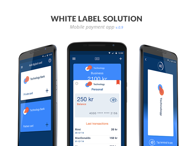 Mobile payment app | Apps | Mobile app ui, Mobile ui design