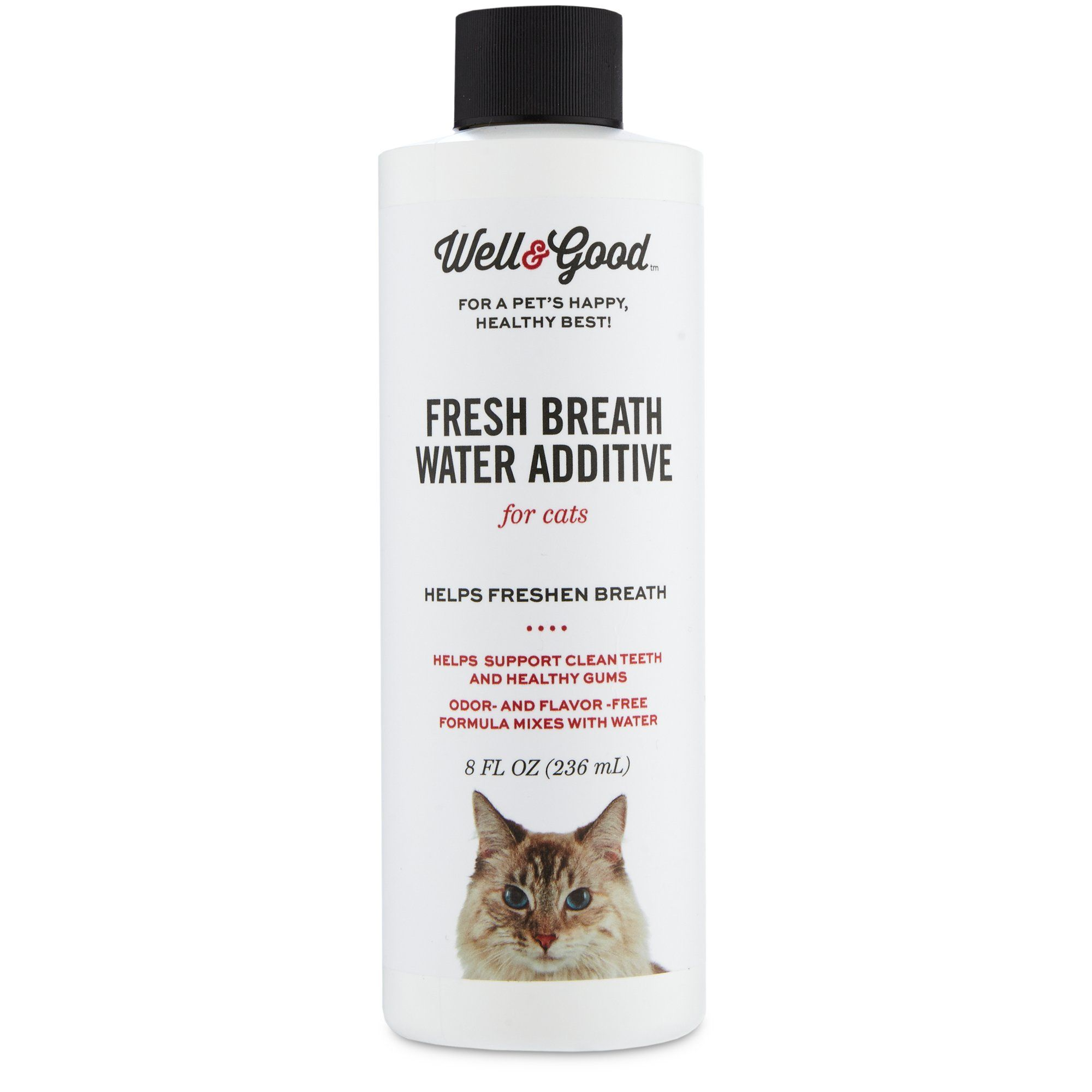 Well Good Fresh Breath Water Additive For Cats 8 Fl Oz Petco Fresh Breath Freshen Breath Cat Breath