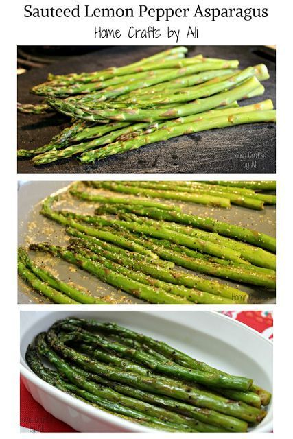 Photo of Sauteed Lemon Pepper Asparagus-Sauteed Lemon Pepper Asparagu…