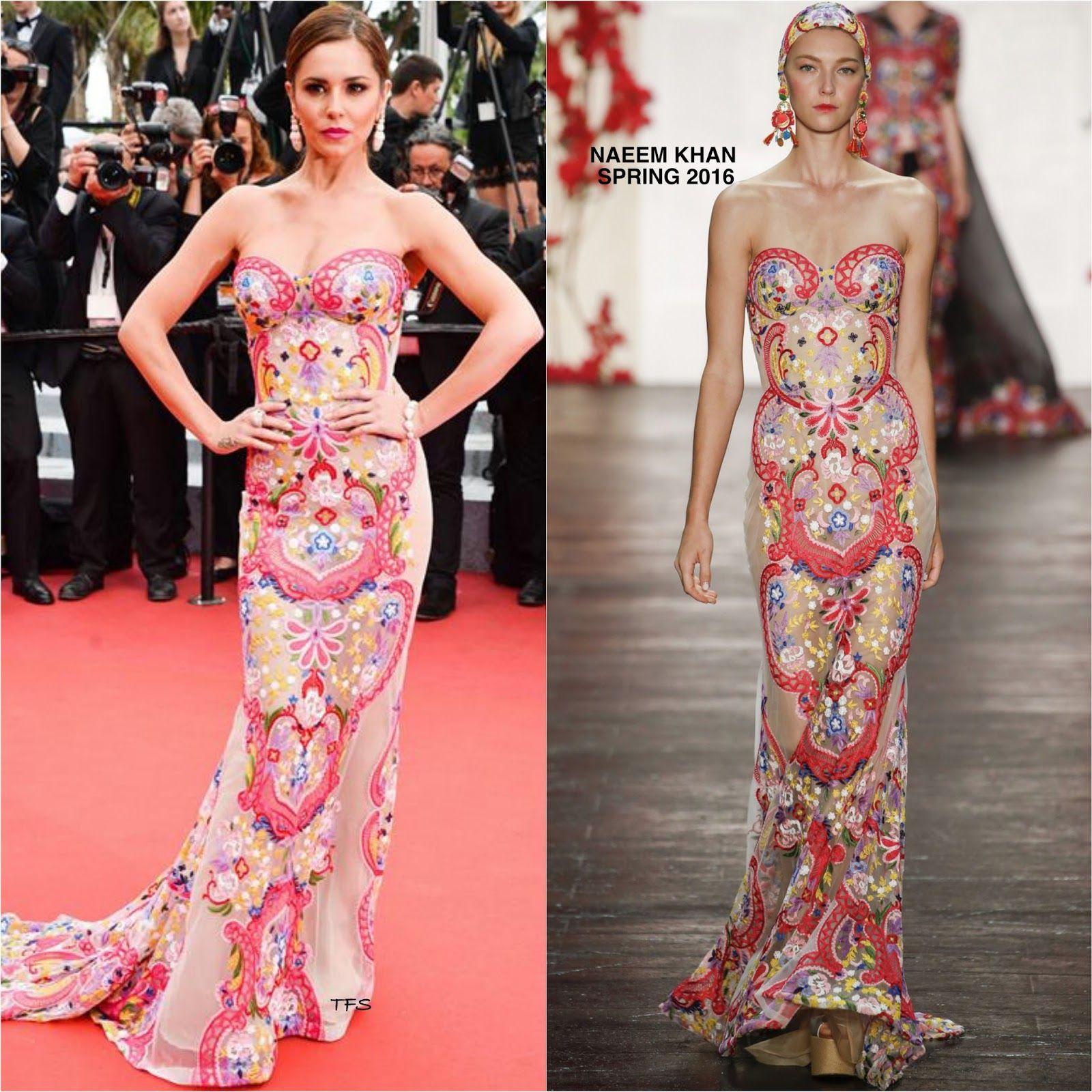 Cheryl Cole in Naeem Khan - 'Slack Bay' Screening at 69th Cannes Film Festival