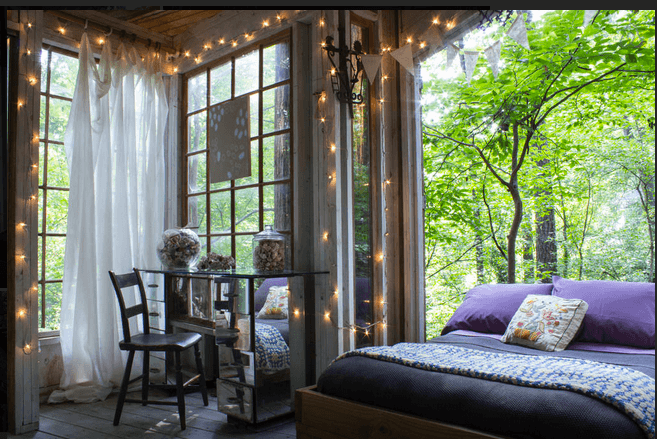 The South's Best Airbnb Rentals Treehouse cabins, Home, Room